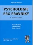 PSYCHOLOGIE PRO PRÁVNÍKY, 2. VYDÁNÍ