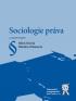 SOCIOLOGIE PRÁVA, 2. VYDÁNÍ